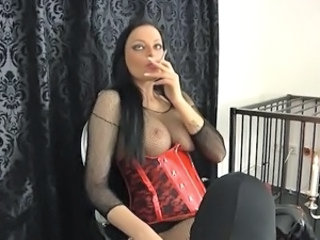 Smoking European European German German Milf