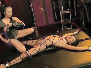 Asian Bondage Skinny Bus + Asian Mistress