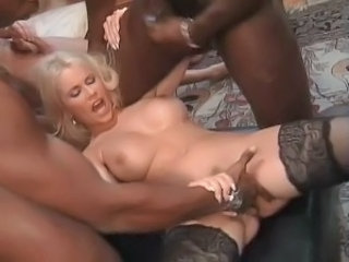 German European Hardcore German Milf Milf Stockings Milf Threesome