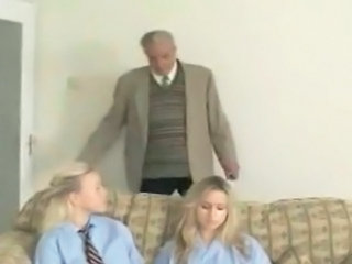Spanking Teen Old and Young Old And Young Uncle