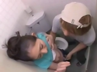 Toilet Asian Doggystyle Surprise Toilet Asian
