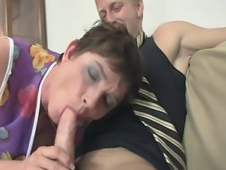Blowjob European Granny European