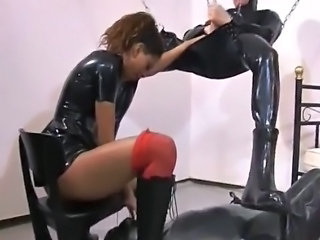 Anal Fetish Latex High Heels Mistress Slave Ass