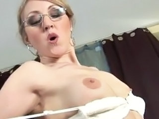 Swallow European Glasses Milf Ass