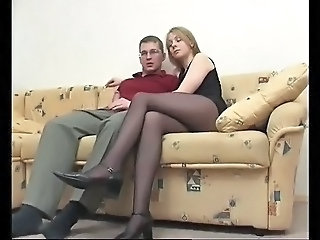 Pantyhose, The Best Way To Watch TV