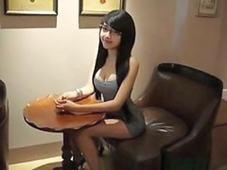 Long Hair Cute Glasses Asian Teen Chinese Cute Asian