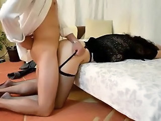 Doggy fucking and some darting