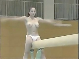Flexible Sport Gym Girlfriend Cum