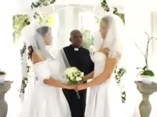 Bride Interracial MILF Wedding