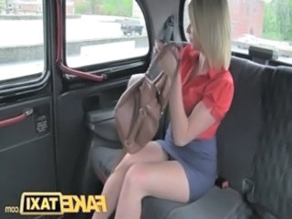 FakeTaxi Hot blonde milf gets more than she bargained for free