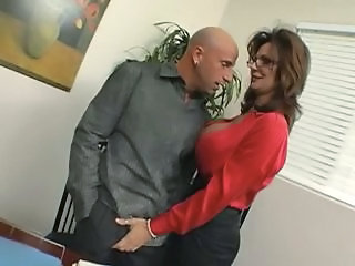 Amazing Secretary Pornstar Big Tits Amazing Big Tits Milf Boss