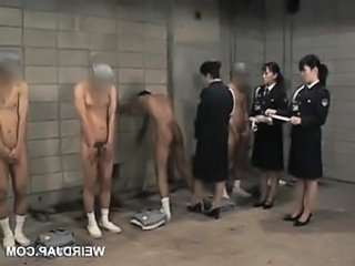 Video from: dr-tuber | Dirty asian police women sex teasing their male convicts