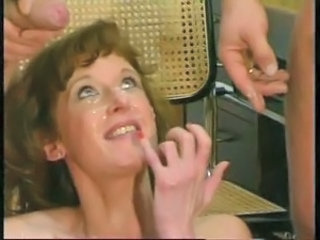 Facial German Cumshot German Milf Milf Facial Milf Threesome