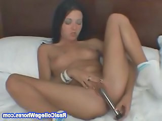 Toy Shoving In My Tight Anal Hole