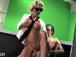 Lady Gaga climbing onto hard cock