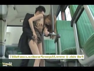 Bus Forced Asian Bus + Asian Clothed Fuck Forced