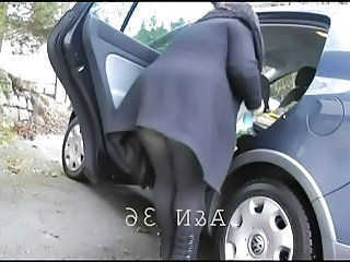 Public Car Mature Outdoor Outdoor Mature Public