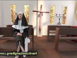 "Nun double penetration fucked in Church"" class=""th-mov"
