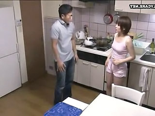 Mom Old and Young Kitchen Japanese Milf Milf Asian Old And Young