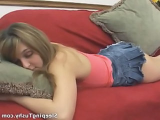 Skirt Sleeping Teen Sleeping Teen Teen Licking