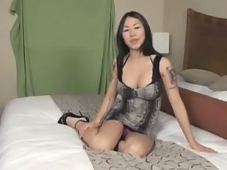 Solo Tattoo Asian Asian Babe