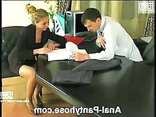 Alina&Ralph nasty anal pantyhose video