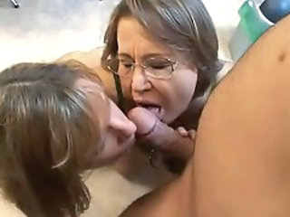 Family Daughter Glasses Blowjob Mature Daughter Daughter Ass
