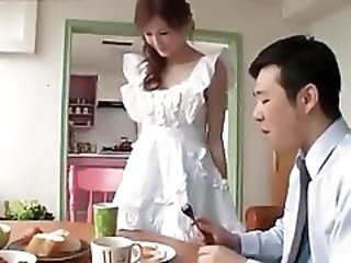 Wife Kitchen Japanese Beautiful Asian Japanese Wife Wife Japanese
