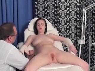 Medical fetish and x-rated needle sadism of enslaved patient by torturing...