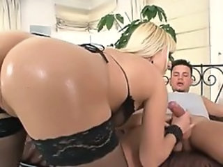 Stockings Blowjob European Stockings