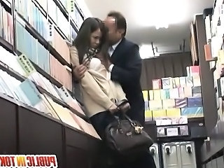 Sweet babe Miyu Kiritani enjoys fucking in public