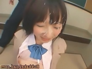 Sexy real asian school girl Mari part4