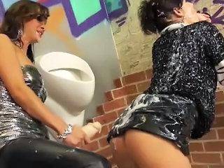 Bukkake Loving Lesbos Love The Gloryhole