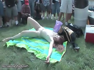 Group of cute teen party girls showing part2