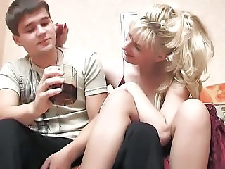 Russian Drunk  Old And Young Russian Milf Russian Mom
