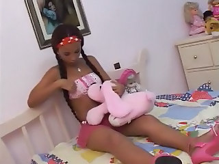 YOUNG SKINNY LATIN TEEN : ANAL 1