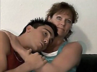 German milf and younger guy