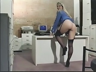 Secretary Ass Office Dildo Milf Milf Ass Milf Office