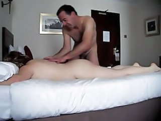 Spanking and Massage