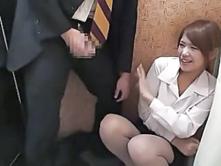 Voyeur Secretary Cumshot Asian Cumshot Dress Japanese Cumshot