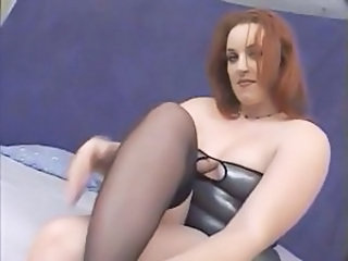 Redhead BBW MILF Bbw Milf Milf Stockings Stockings
