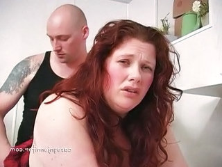 Redhead BBW Doggystyle Bbw Milf Dirty Milf Threesome