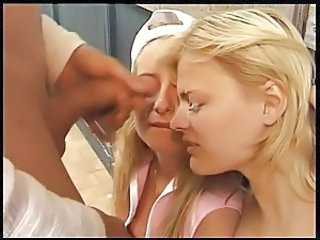 Facial Threesome Cumshot Cumshot Teen Public Public Teen