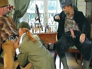 Clothed Threesome Vintage Big Cock Blowjob Blowjob Big Cock French