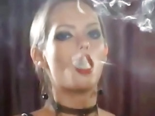 Smoking Rubber Licking Shaved