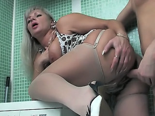 Mom Russian Mature Bathroom Mom Chubby Mature Mature Chubby