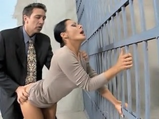 Prison Clothed Doggystyle Clothed Fuck Son Wife Milf