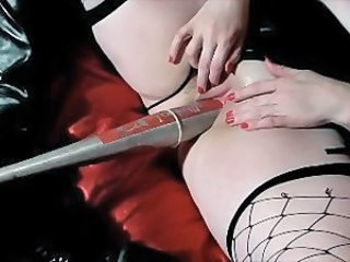Videos from: xhamster | baseball bat insertion