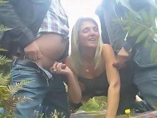 Small Cock Handjob Threesome Handjob Amateur Handjob Cock Milf Threesome