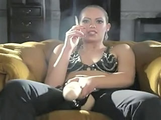 Amazing  Smoking Milf Ass Strapon Ass